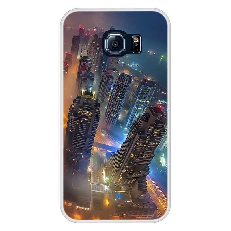 サムスンギャラクシー S6 S 6 ソフトシリコーン TPU クールパターン塗装カバー Coque サムスン S6 S 6 電話ケース