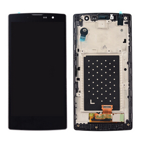 Original black color For Lg Magna H500F H502F Y90 Lcd Display With Touch Glass Digitizer+frame Assembly replacement