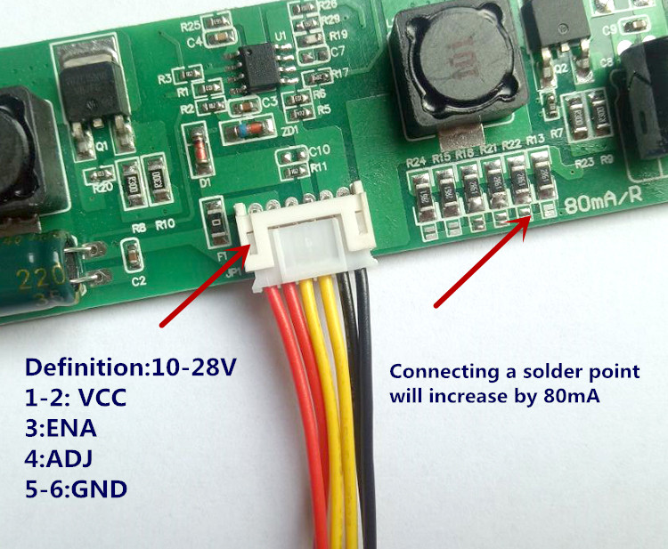CA-266S New Universal 32-65 Inch LED LCD TV Backlight Constant Current Driver Board 80-480mA Output