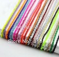1yard/lot 3mm Manmade Braided Leather Cord Hemp Rope for Jewelry Making Bracelet Necklace 008005001(2)