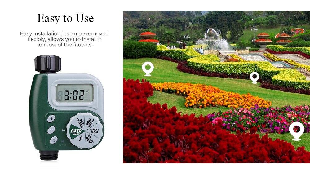 HTB1OODzaHr1gK0jSZR0q6zP8XXaW 30m Automatic Micro Drip Irrigation System Garden Irrigation Spray Self Watering Kits with Adjustable Dripper