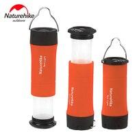Naturehike 야외 라이트 텐트 램프 손전등 3-in-1 라이트 야외 도구 led 캠프 램프 다목적 액세서리 라이트