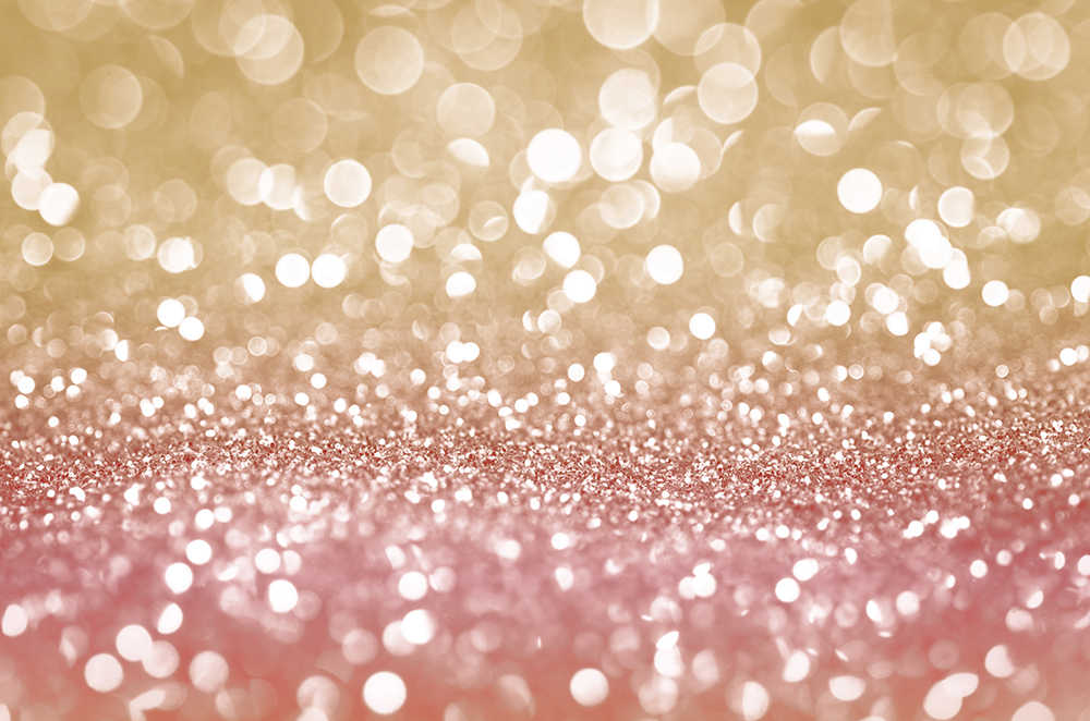 Rose Gold Pink Abstract Glitter Texture Bokeh Backdrop Sparkle party/YouTube video/Instagram ...
