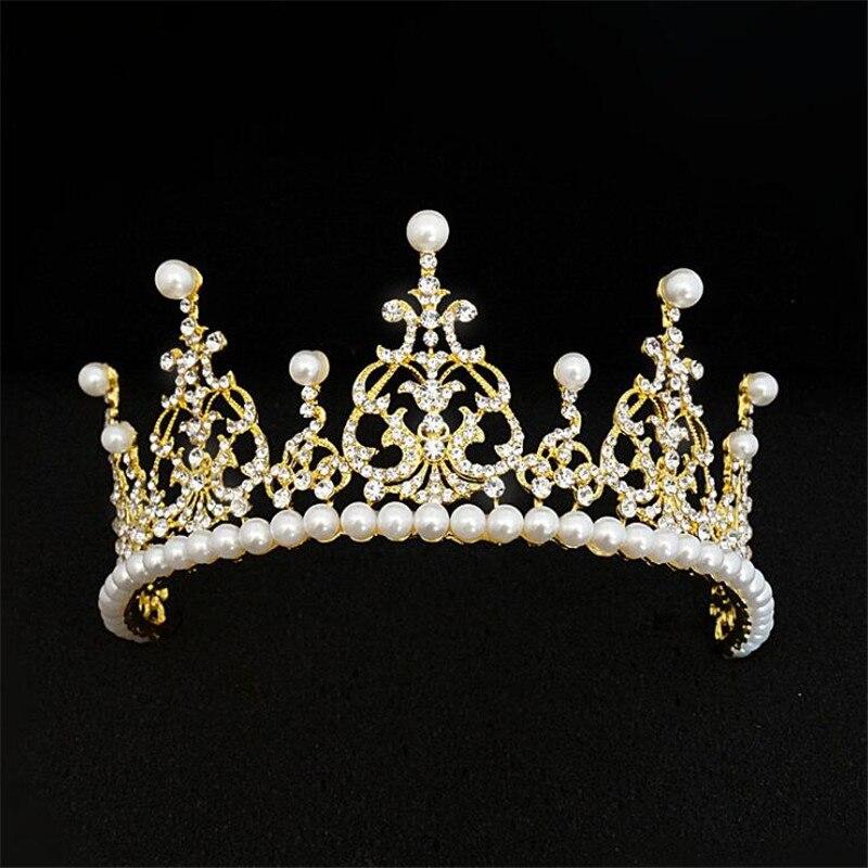 تيجان ملكية  امبراطورية فاخرة Luxury-Pearls-Bridal-font-b-Crowns-b-font-Vintage-font-b-Tiara-b-font-headband-wedding