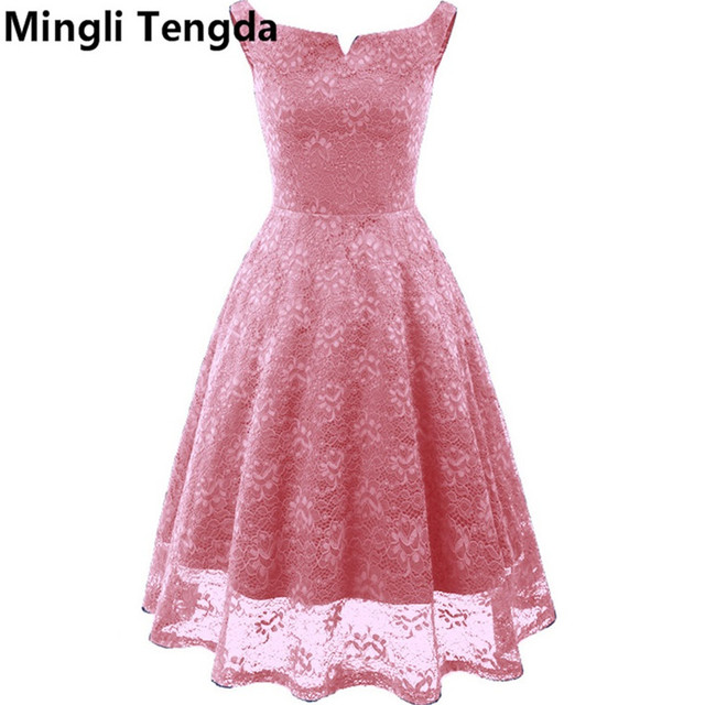 58906d25f Vino rojo Rosa vestidos de dama de honor Vestidos cortos para el banquete  de boda