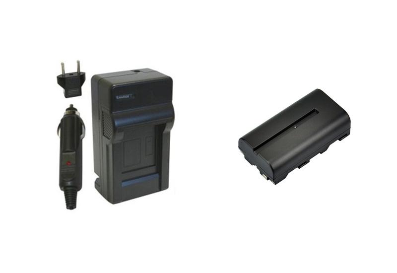 Prix pour NP-F330, NP-F550, NP-F570 Caméscope Batterie et Chargeur pour Sony CCD-SC5 TRV51 TRV7 TRV81 TRV820 RV200 CCD-SC55 CCD-TRV81.