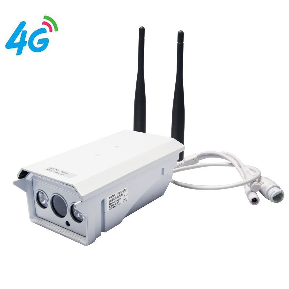 4G Mobile Bullet 960P HD IP Camera with 4G FDD LTE Network Worldwide & Free APP for Remote & 4X Optical Zoom & Waterproof IP66 jeatone 3g 4g sim card mobile ip camera hd 720p video transmission via 4g fdd lte netowrk worldwide free app for remote