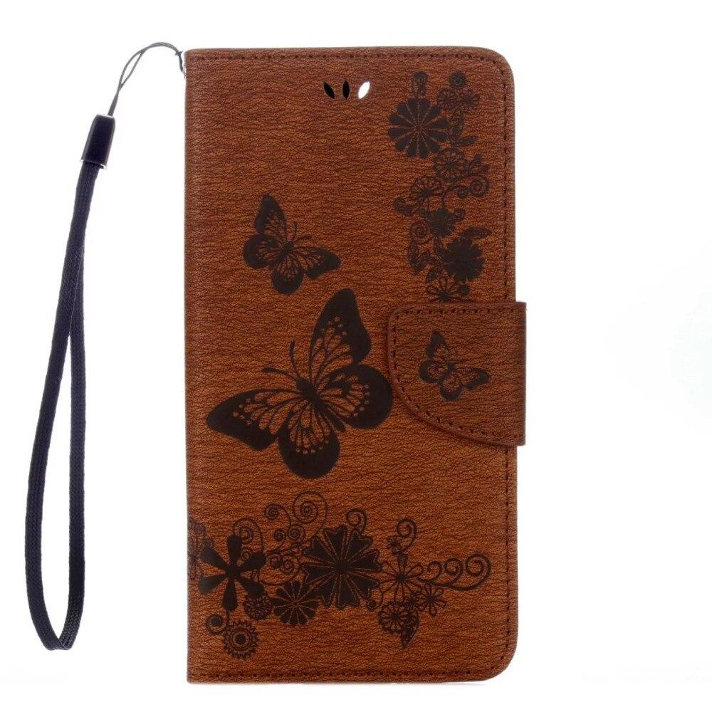FULAIKATE Funda de cuero con relieve para iPhone6 6s Funda con - Accesorios y repuestos para celulares - foto 3