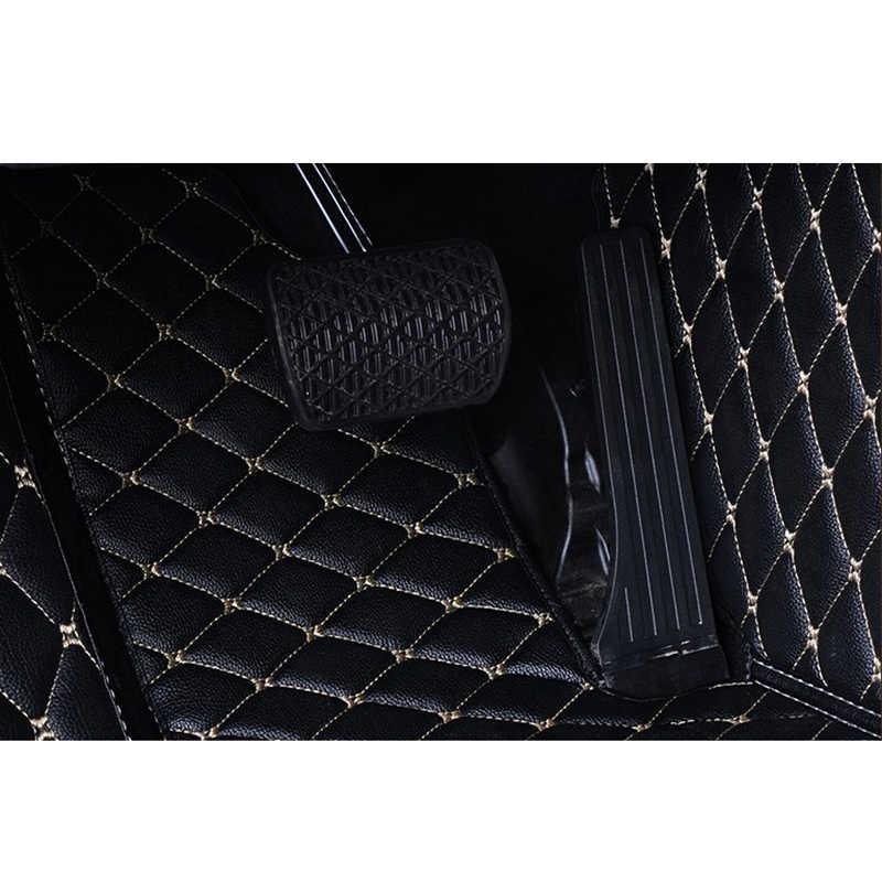 แฟลช MAT รถหนังสำหรับ Chevrolet Cruze 2009 2010 2011-2016 2017 2018 CUSTOM แผ่นรถยนต์พรมรถ