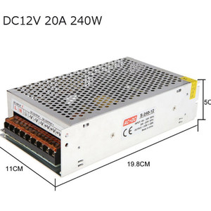 Factory direct 12V20A switchin