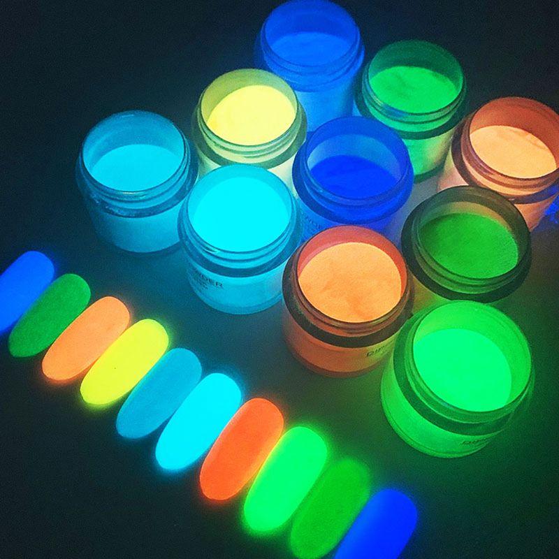 10 Colors Nail Infiltration Powder Nail glaze Powd