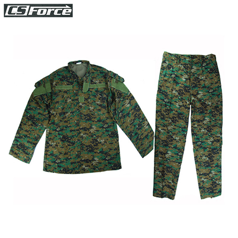 Tactical Military Combat V2 Uniform Shirt Pants Woodland Camo Army CS Wargame Camouflage Suit Outdoor Airsoft Hunting Clothes ghost skull full face mask cosplay balaclava paintball cs hood wargame airsoft hunting army tactical masks
