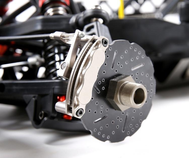 цены на CNC Aluminum Cable Brake system Mechanical 2 Wheel Disc Brake Kit