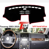 TAIJS Left Hand Drive Car Dashboard Mat For Volkswagen Touareg 2003 2010 Adumbral Cover For Volkswagen