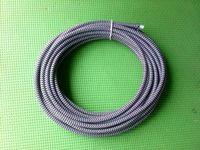 100 м Бесплатная доставка DHL 2x0. 75mm2 Zig Zag ПОЛОСА Ткань кабель Текстильная Плетеный кабель ткань покрыта электрические Провода