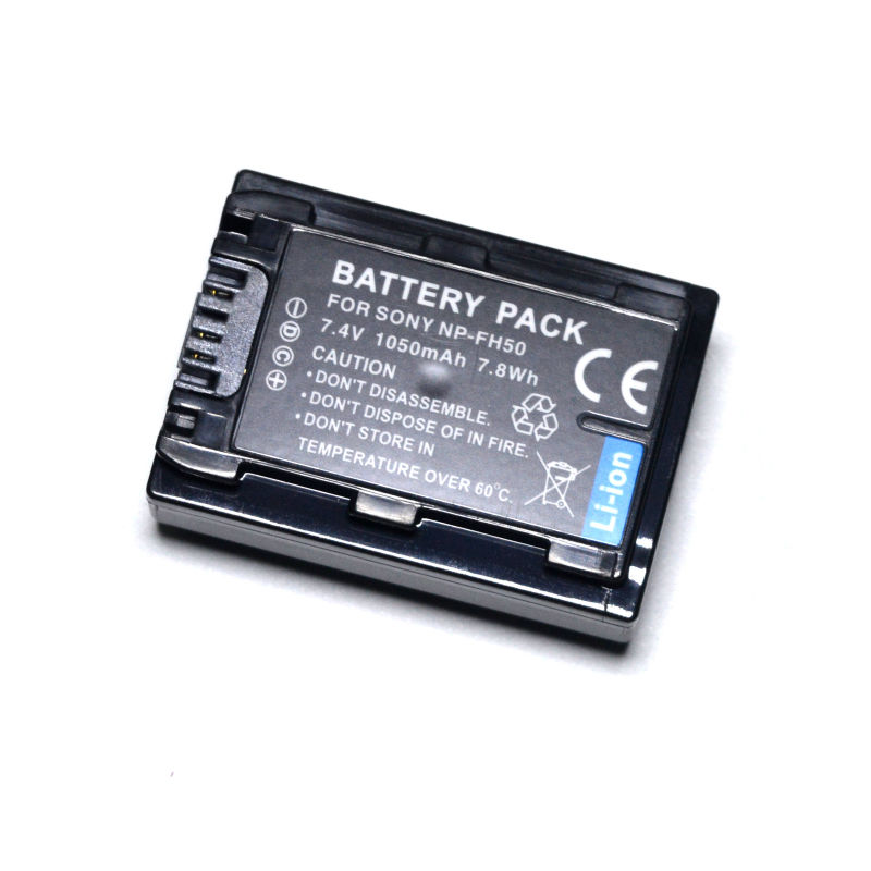 NP-FH30 NP-FH40 NP-FH50 NP-FH60 Battery For Sony DSC-HX1 DSC-HX100V DSC-HX200V SLT-A35 HDR-TG1 HDR-TG3 HDR-TG5 HDR-TG7 Camera