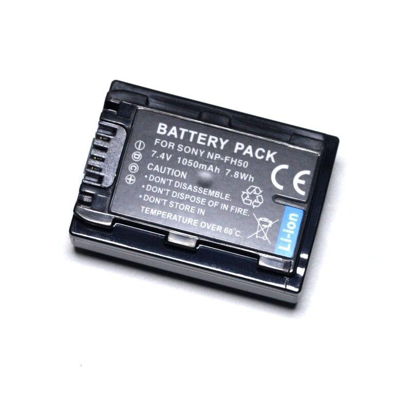NP-FH30 NP-FH40 NP-FH50 NP-FH60 batería para Sony DSC-HX1 DSC-HX100V DSC-HX200V SLT-A35 HDR-TG1 HDR-TG3 HDR-TG5 HDR-TG7 Cámara