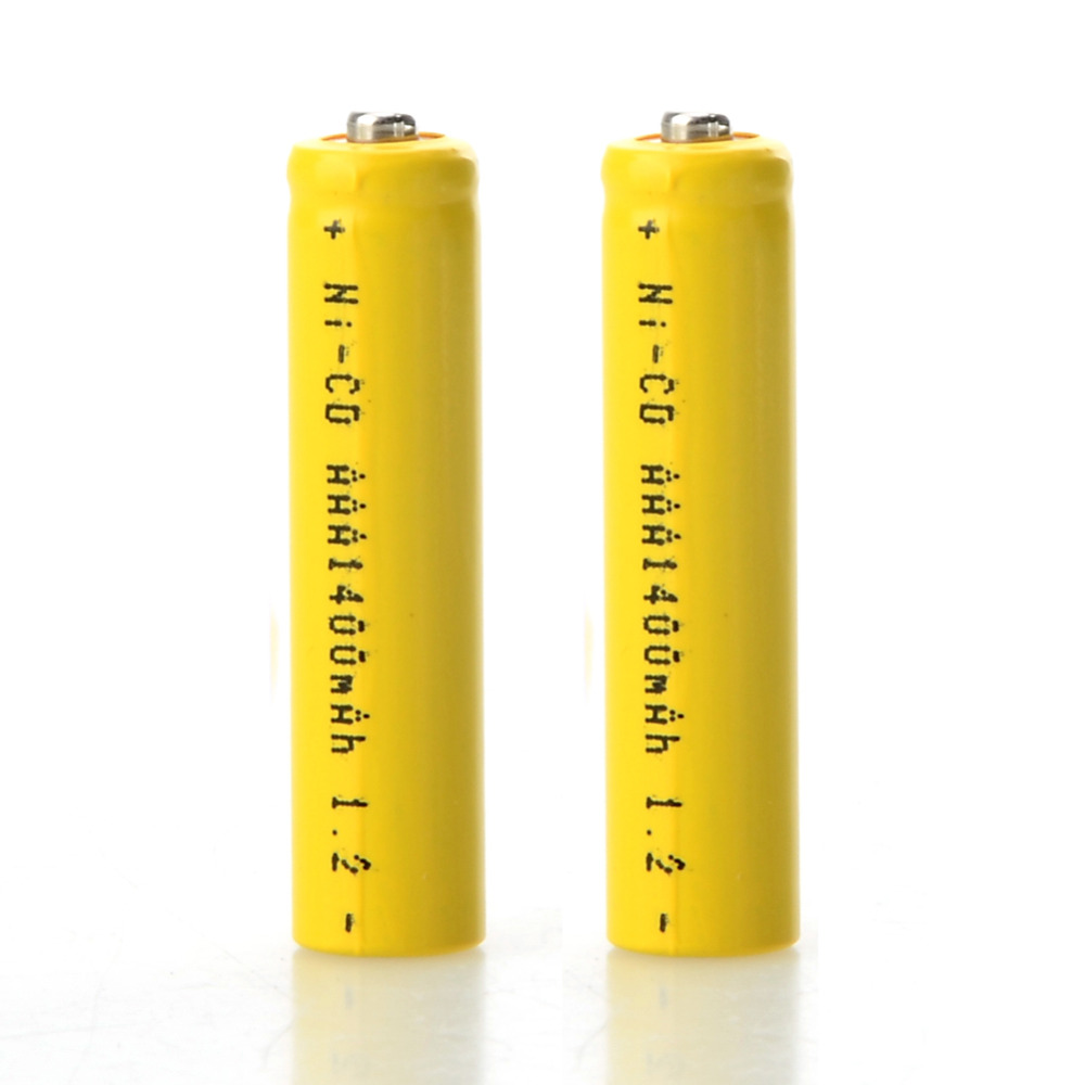 New 2Pcs Rechargeable Neutral AAA Batteries 1.2V 1400mAh