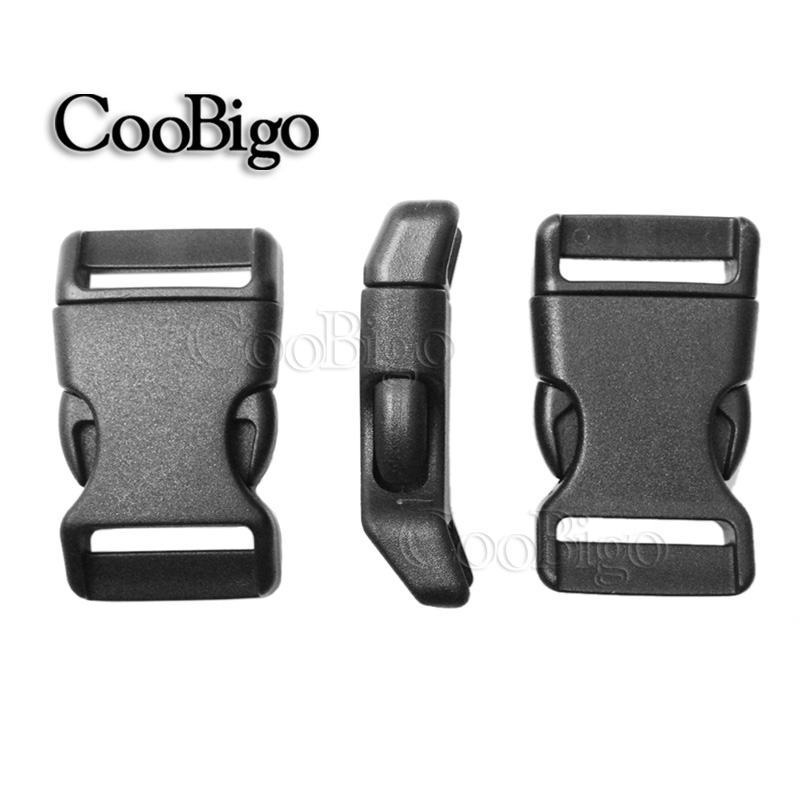 20mm Contoured Side Quick Release Plastic Buckles Tactical Backpack Straps