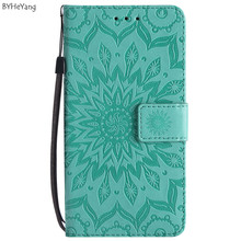 BYHeYang PU Leather Protective Phone Case For Coque LG Q8 Q