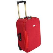Women men trolley luggage 18 22 inch trolley luggage travel suitcase Pull rod box drag box