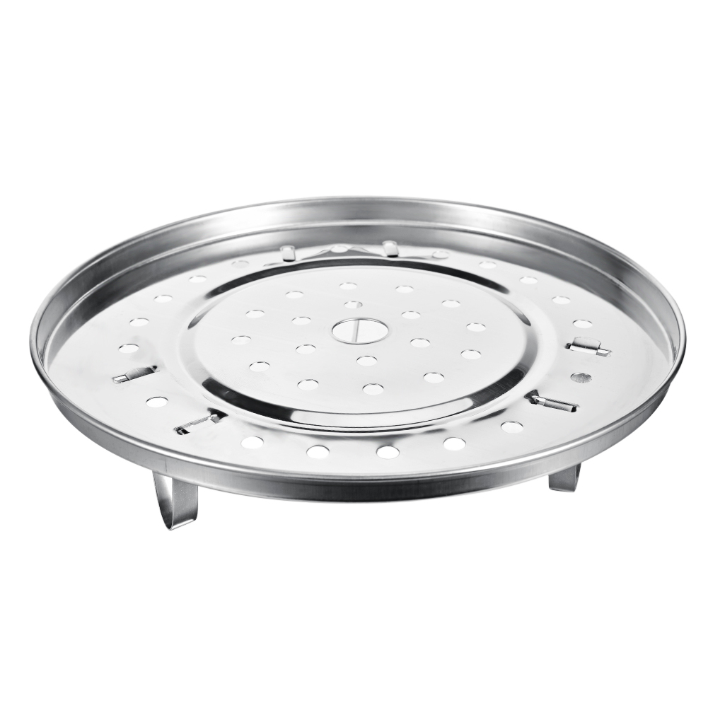 Large Stainless Steel Kitchen Cooking Steamer Steam Bread Seafood Fish Vegetable Stand Drain Rack Cake Cooling Tray
