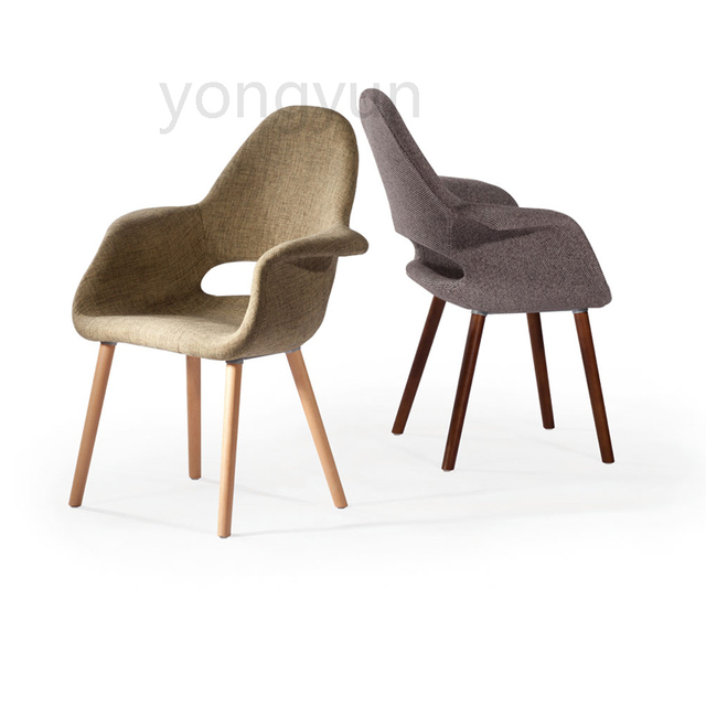 Living Room Furniture For Home Table Casual Plastic Dining Chair Leisure Fashion Modern Bedroom Simple