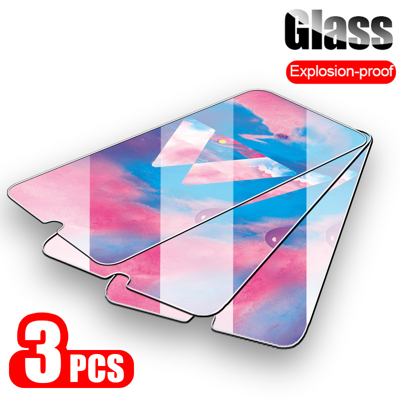 3 1Pcs Protective Glass for Samsung Galaxy A50 A30 A20 Screen Protector Tempered Glass for Samsung M10 M20 M30 A40 A70 A30 A50-in Phone Screen Protectors from Cellphones & Telecommunications