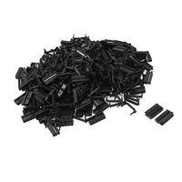 200 Pcs 2.54mm Pitch Female 20 Pin Flat Cable IDC Socket Connector Black Free shipping
