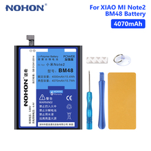 NOHON BM48 Battery For 4070mAh Lithium Replacement Internal Phone Bateria Xiaomi Mi Note 2 Note2 Mobile Free Tools