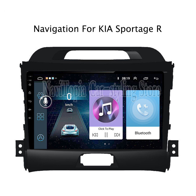 ECTWODVD 9inch Android 8.1 Car Radio GPS Navigation Multimedia Stereo DVD Player for Kia Sportage R 2010 2011 2012 2013 2014-ECTWODVD 9inch Android 8.1 Car Radio GPS Navigation Multimedia Stereo DVD Player for Kia Sportage R 2010 2011 2012 2013 2014-