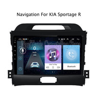 ECTWODVD 9inch Android 8.1 Car Radio GPS Navigation Multimedia Stereo DVD Player for Kia Sportage R 2010 2011 2012 2013 2014
