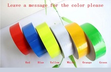 Reflective Warning Safety Adhesive Tape Bike Truck Car Motorcycle PVC Reflective Self-adhesive Warterproof Tapes reflective safety warning pvc strip garment accessories safety vest clothing reflective crystal lattice pvc tapes