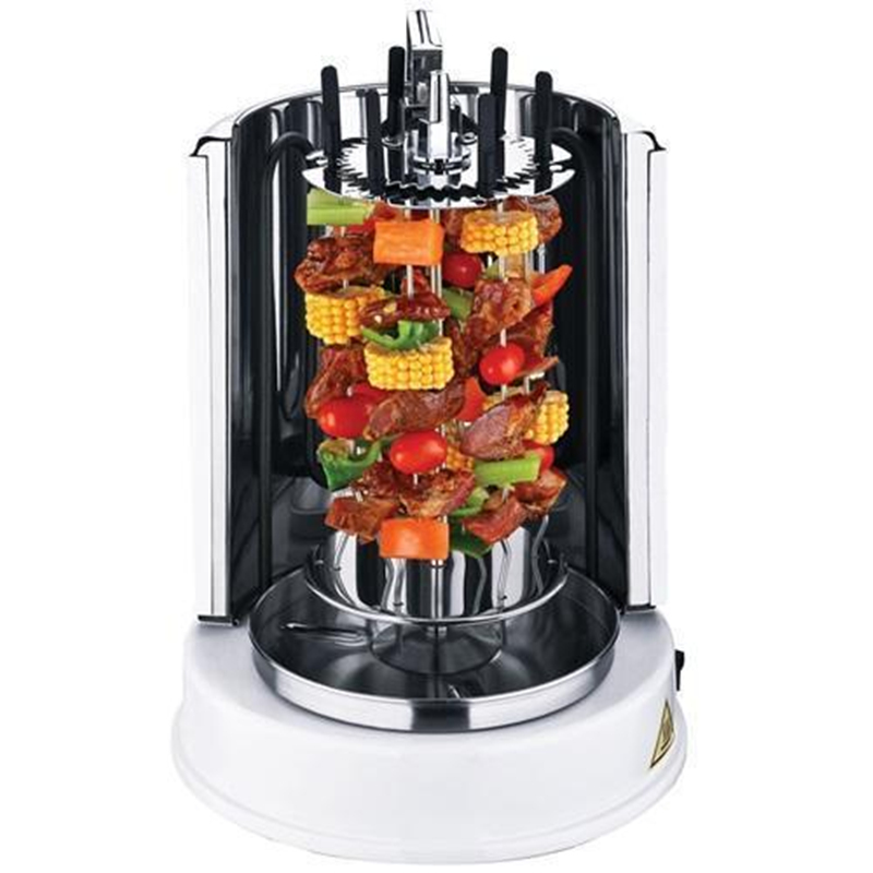 Image 2 - Wonderper Vertical Rotisserie Oven Electric Grill Countertop Oven Shawarma Machine Rotisserie Grill-in Rotisseries from Home Appliances