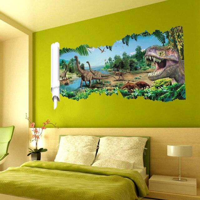 Dinosaurus Kinderkamer Slaapkamer Woonkamer Muurstickers Groothandel ...