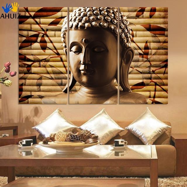 Asiatische Bilder Auf Leinwand 3 stück klassische buddha malerei feierliche buddhismus wand