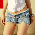 plus size denim jeans shorts women summer style 2016 bermuda feminina mini sexy low waist shorts fray denim ladies shorts A0291