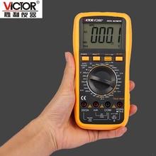 1 шт. ВИКТОР VC980 + Т-RMS Цифровой Мультиметр Ручной Автоматический Выбор Диапазона Электронный Прибор с Большой ЖК-Дисплей