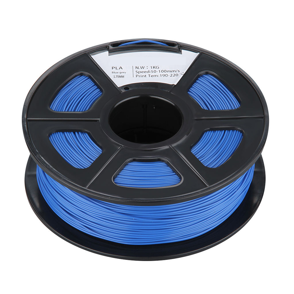 BLEL Hot PLA 1KG 1.75mm Repraper 3D Printer Filament Bundle for Reprap Mendel INK BLUE 3d printer filament 1kg 2 2lb 3mm pla plastic for mendel black
