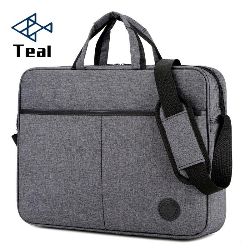 2019 Briefcase Men Handbag Large Capacity Portable Thin Super Multifunction Big Size 15.6 Inches Designer Laptop Handbags