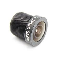 1.8mm 3.6mm 6mm cctv lente de segurança 170 graus grande angular cctv olho de peixe lente para ir placa cctv hd ahd tvi cvi câmera ip m12