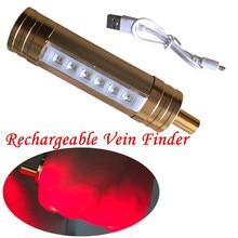 6 светодиодный прибор для просмотра Вены IV дисплей освещение медицинская визуализация инфракрасный сосудистый трансиллюминатор Venipuncture локатор для вен