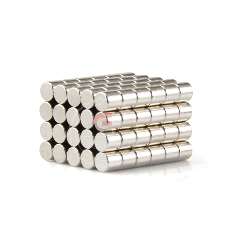 1000 PCS D4X4MM quality acrylic magnet N50 high performance neodymium magnets 4 4