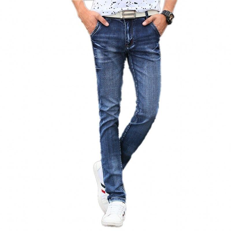 2016 new arrival winter jeans men Fashion elasticity men's  jeans high quality Comfortable Slim male cotton jeans pants ,27-36.