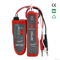 High Quality NF 806 Red color Network Cable fault locator Tester UTP STP RJ45 RJ11with Alligator Clip NF_806