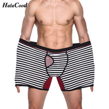 SEOBEAN Cotton Underwear Sexy Man Panties Comfortable Breathable Underpants Male