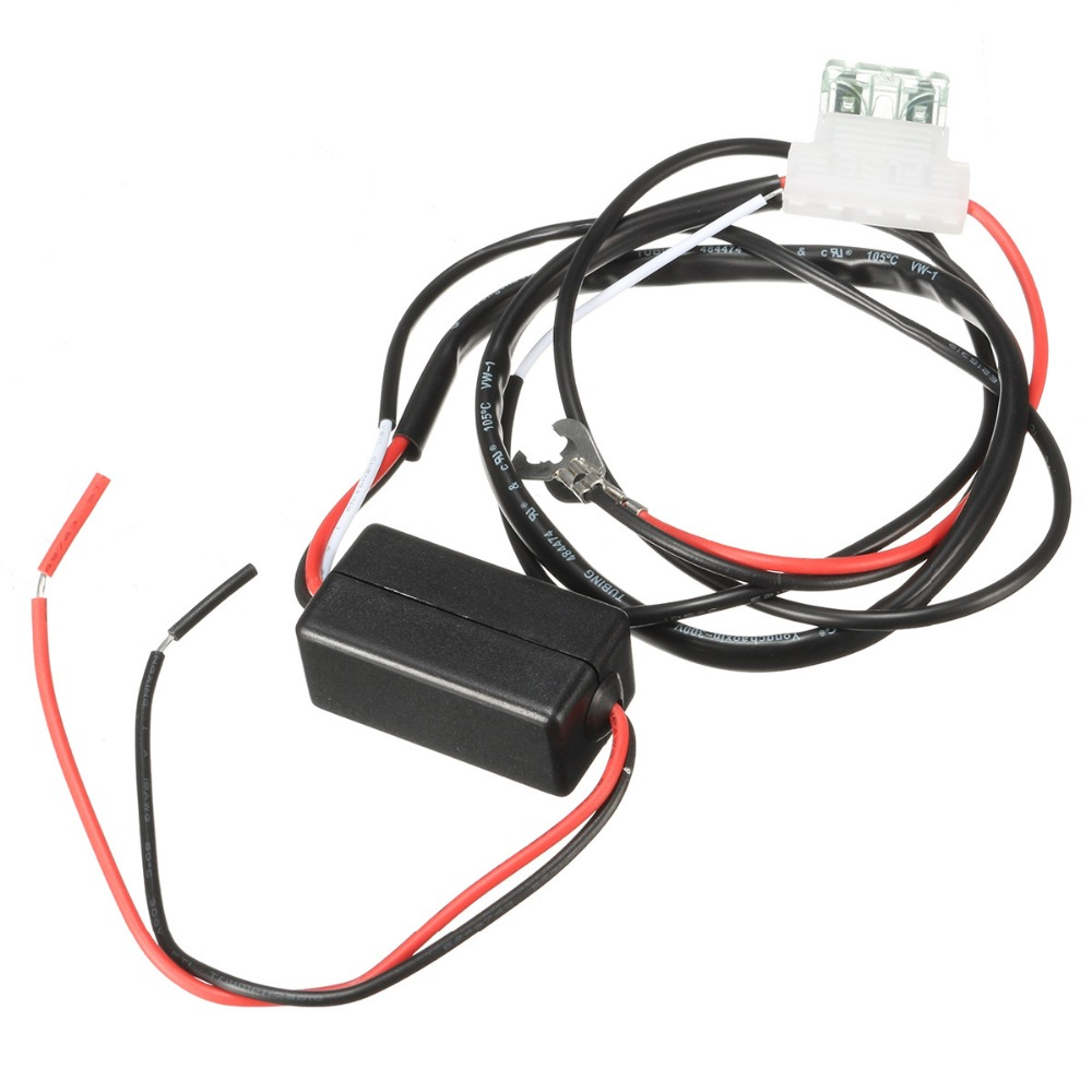 12 volt 2 amp motor LED day light relay daytime running light relay wiring  harness car controller switch / stop light on Aliexpress.com | Alibaba Group