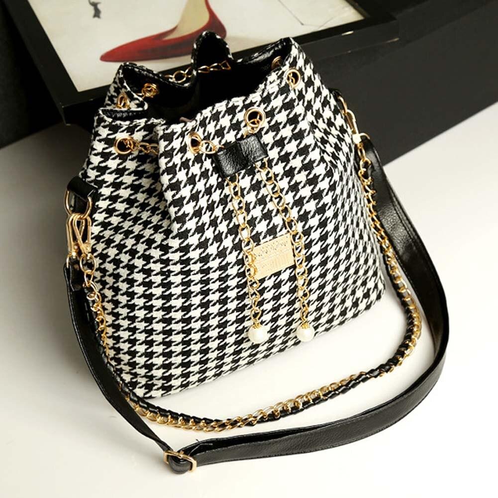 Fashion Women's Delicate Bucket Bag Chain Shoulder Bag Messenger Bag Tote MSJ99