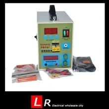 2016 LED de Pulso Battery Spot Soldador Aplicable Batería Del Teléfono Portátil Máquina de Soldadura de Precisión con Pedal POWER 787A +