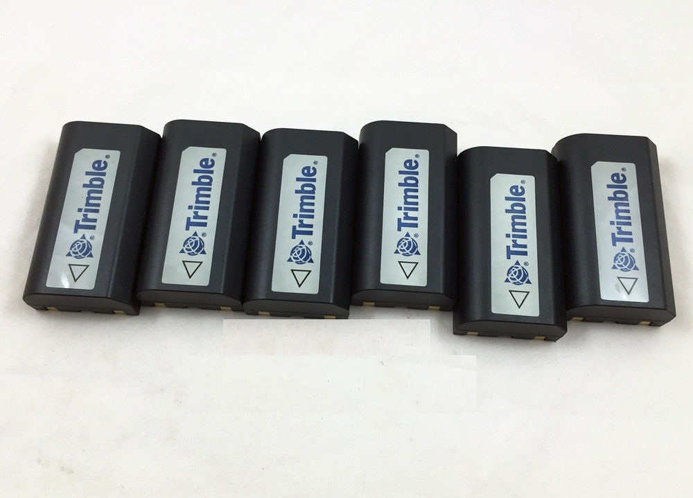 2400mAh -6PCS Combo - Ext battery for TRIMBLE 5700, 5800, R7, R8 GPS Receiver 5pcs samsung battery core compatible battery 54344 for trimble 5700 5800 r6 r7 r8 tsc1 gps receiver